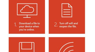 Infographic: Edit files offline with Office 365 Post Preview
