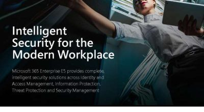 Intelligent security for the modern workplace Post Preview