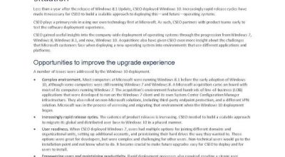 Deploying Windows 10 at Microsoft as an in-place upgrade Post Preview