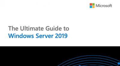 eBook: The ultimate guide to Windows Server 2019 Post Preview